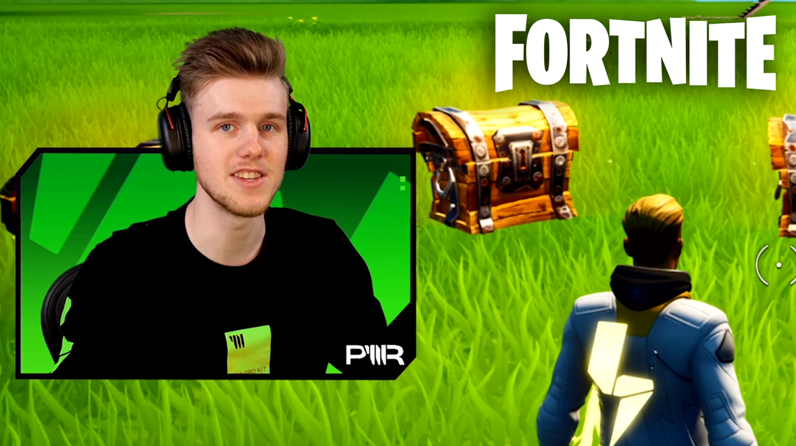 Fortnite gameplay with Lachlan