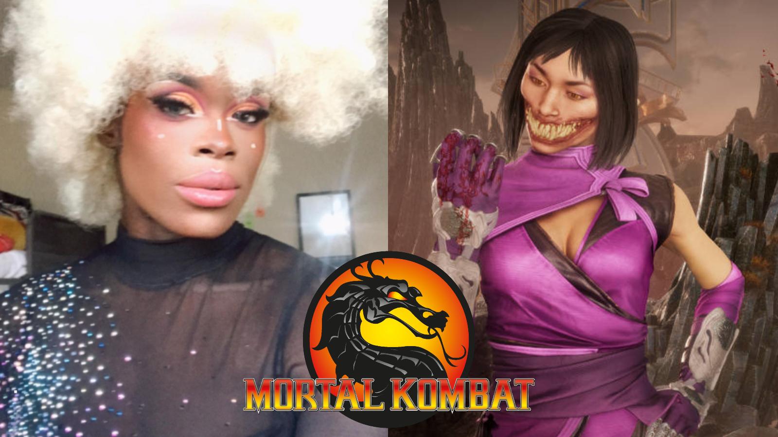 Mileena Mortal Kombat Cosplay by Asttina Mandella RuPaul's Drag Race UK