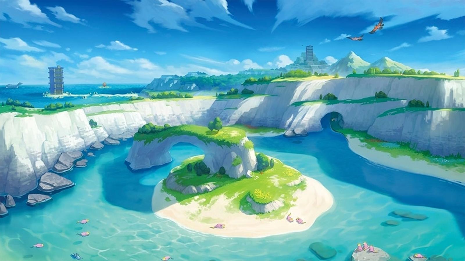 Pokemon Sword & Shield Isle of Armor