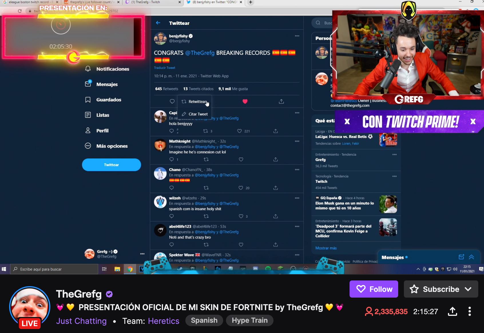 TheGrefg Twitch viewership