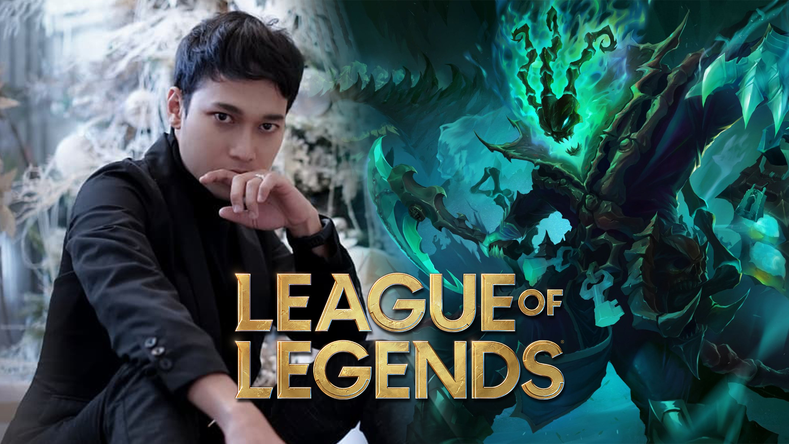 Thresh cosplay in League of Legends
