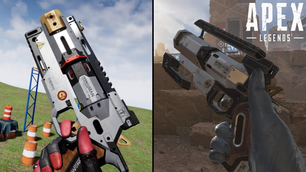 Wingman in VR and Apex Legends