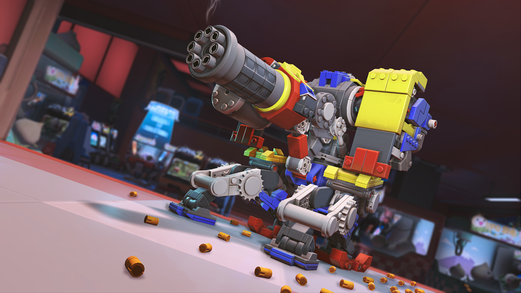 Bastion in sentry form