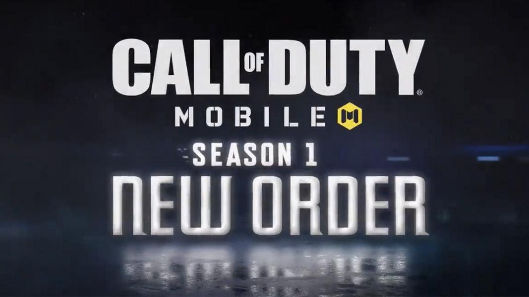 CoD mobile season new order logo