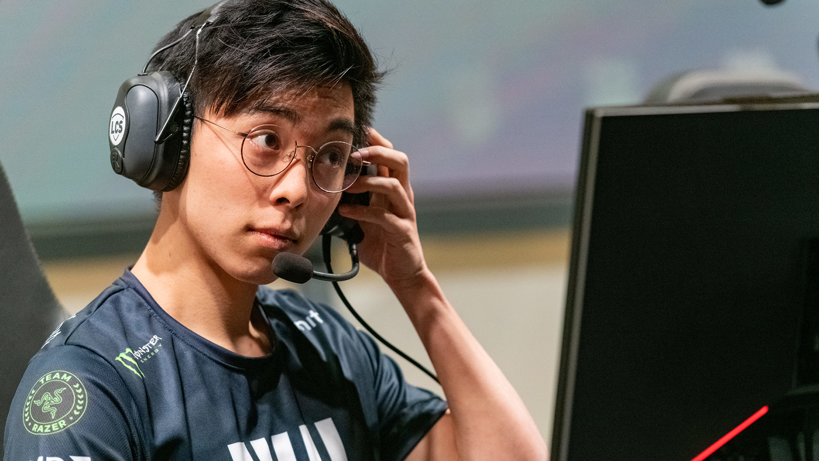 Deftly plays for Evil Geniuses League of Legends in LCS Lock In.