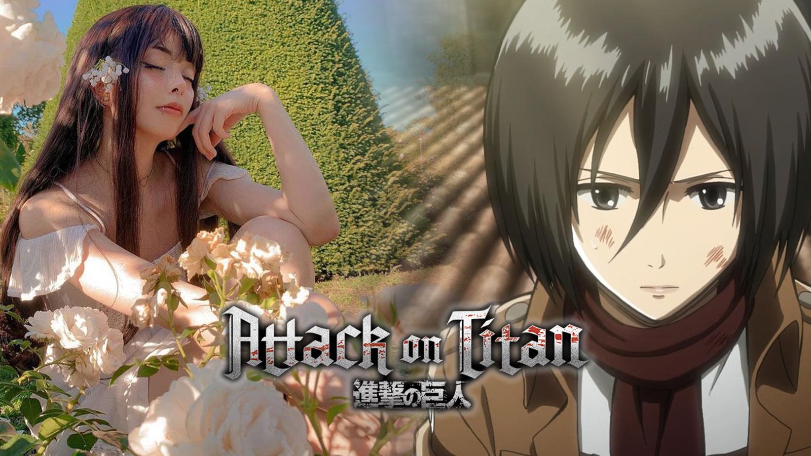 Attack on Titan Mikasa Ackerman Cosplay