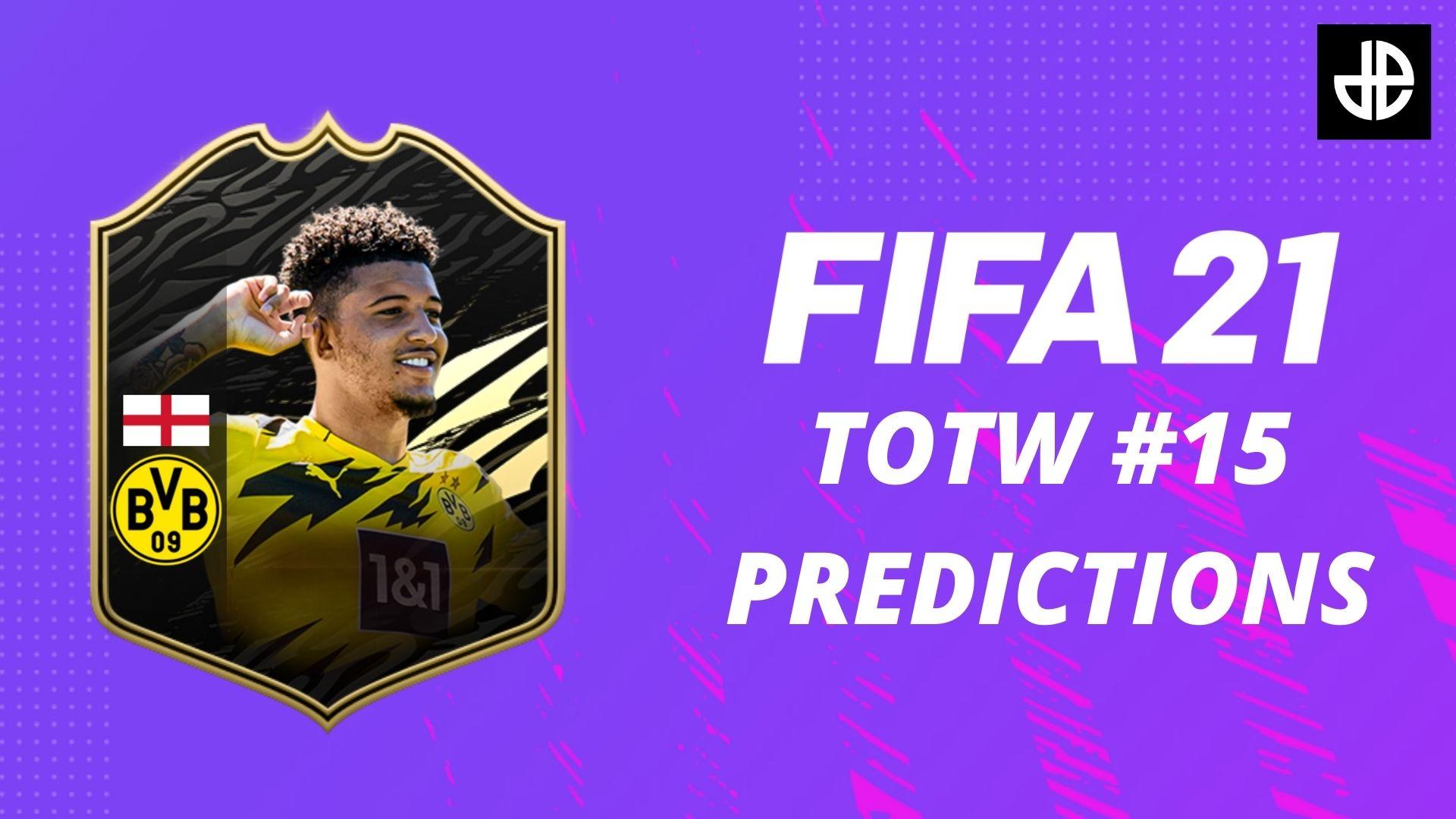 Jadon Sancho TOTW card FIFA 21