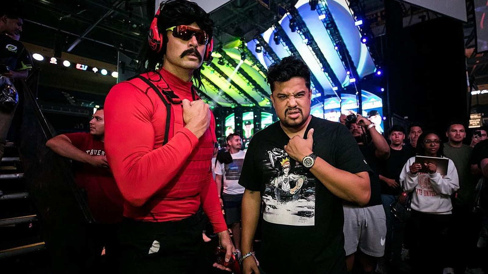 dr disrespect and optic h3cz