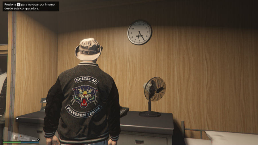 GTA Online jacket features vice city text