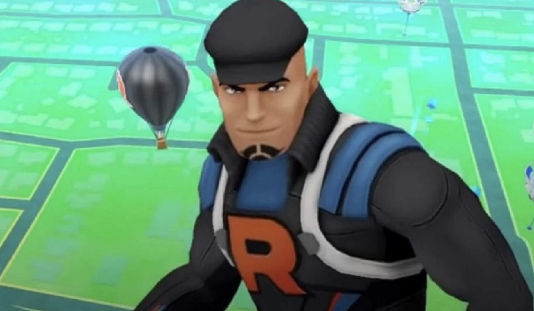 Team Rocket Leader Cliff in Pokemon Go.