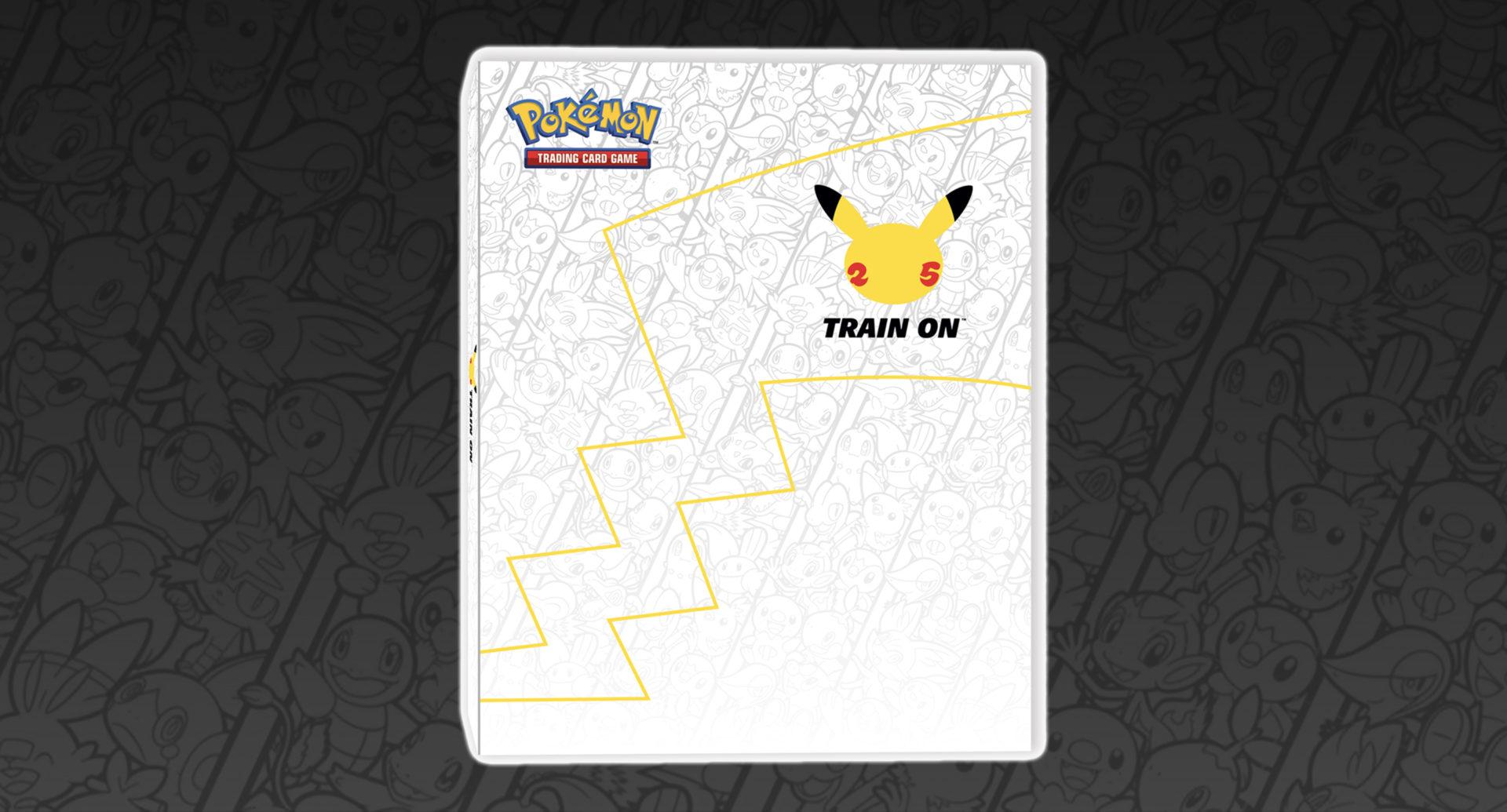 Screenshot of Pokemon 25 TCG First Partner pack binder.