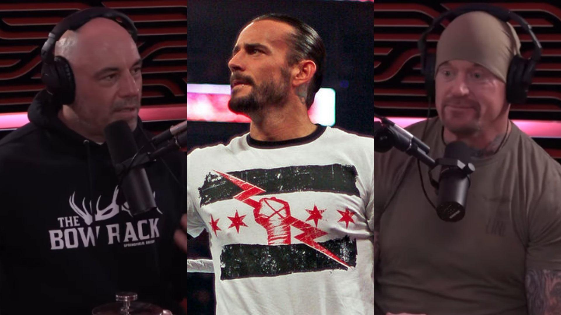 Joe Rogan and Undertaker discuss CM Punk