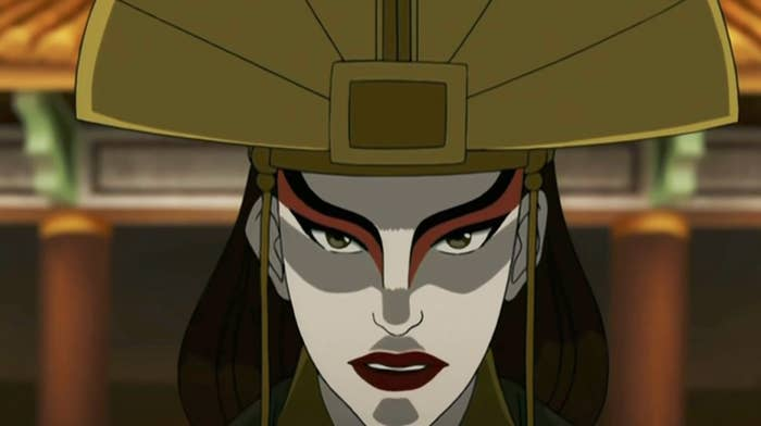 Avatar: The Last Airbender Kyoshi Cosplay