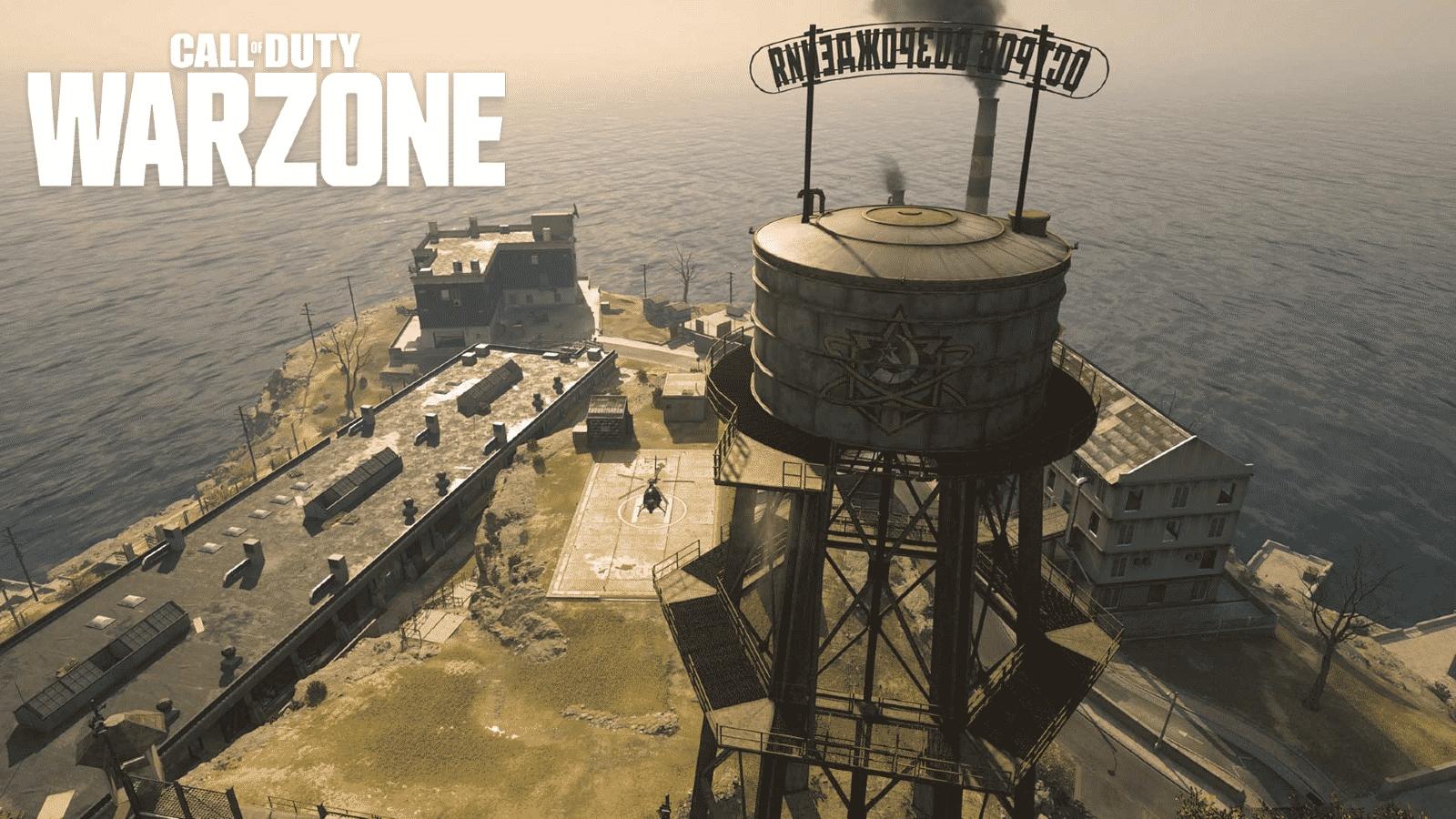 warzone rebirth island tower