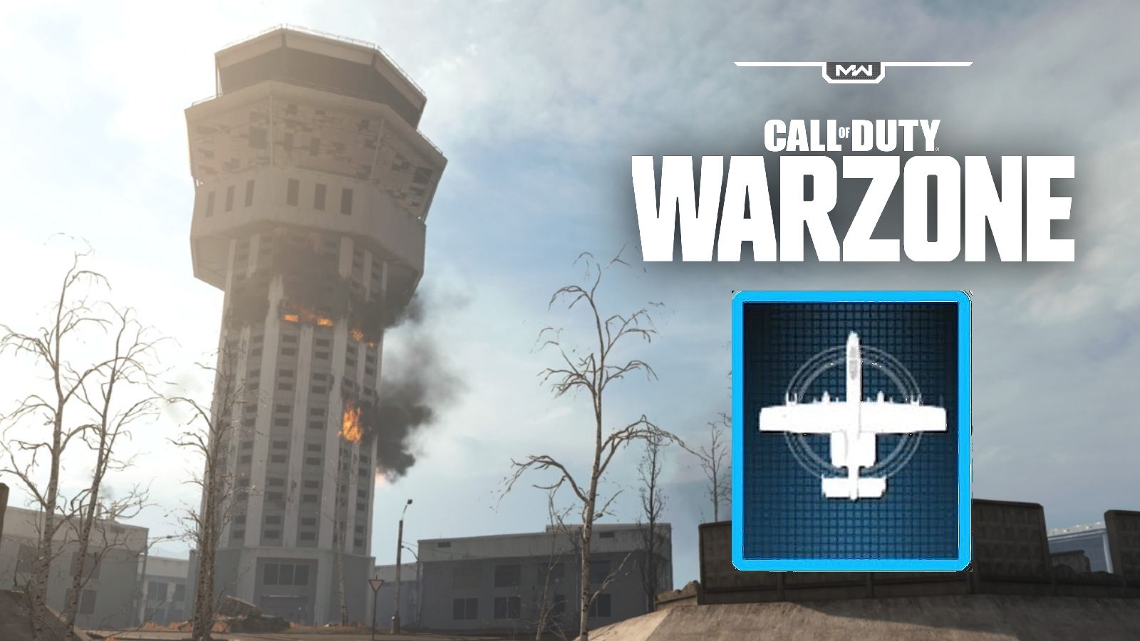 warzone airport tower precision airstrike
