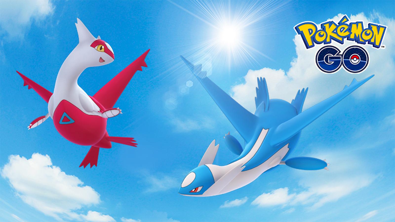 Latios Latias Pokemon Go