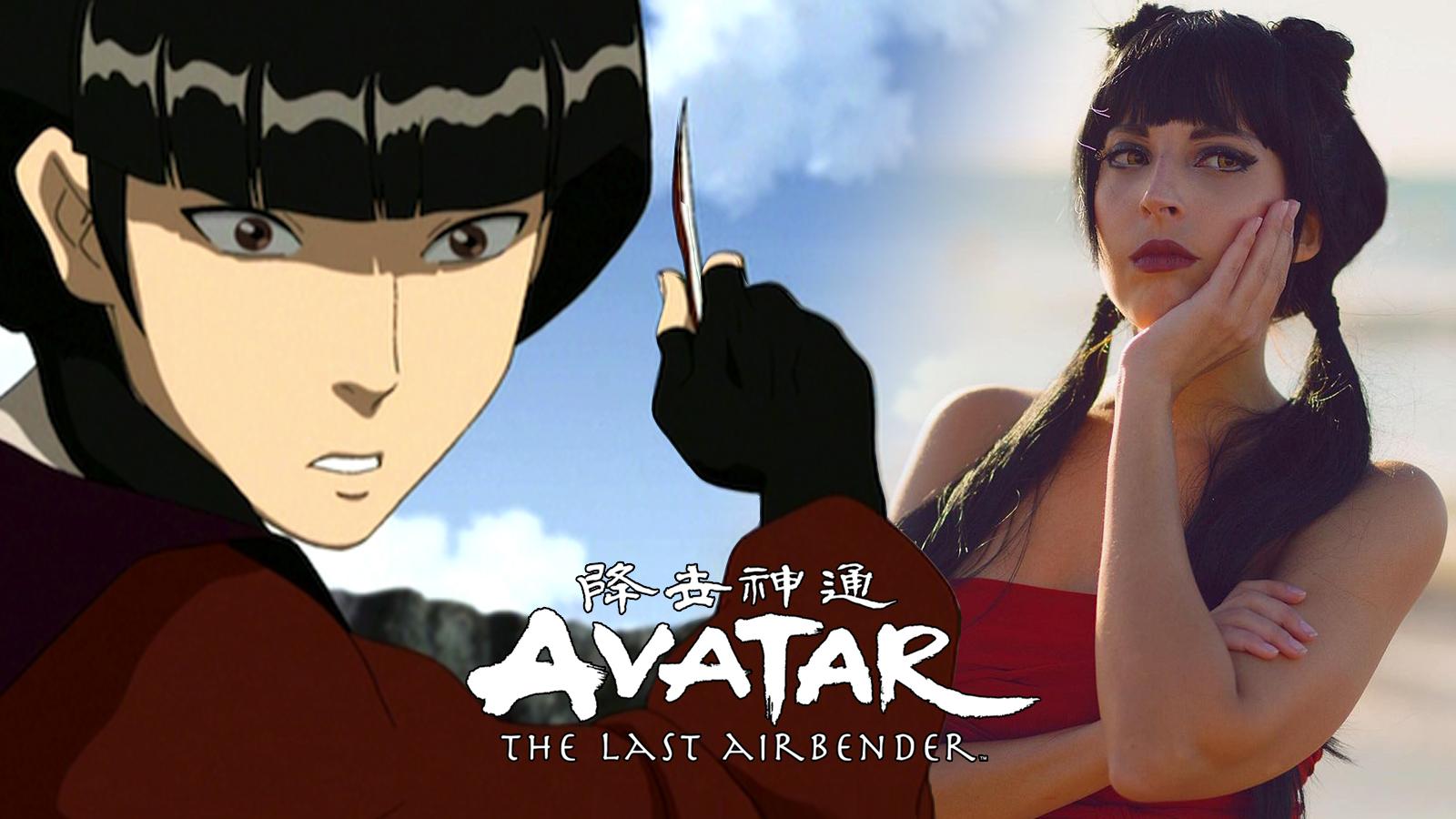 mai avatar the last Airbender cosplay