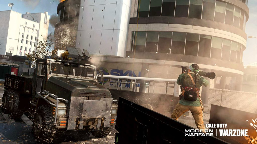 Warzone Armored Royale Trucks