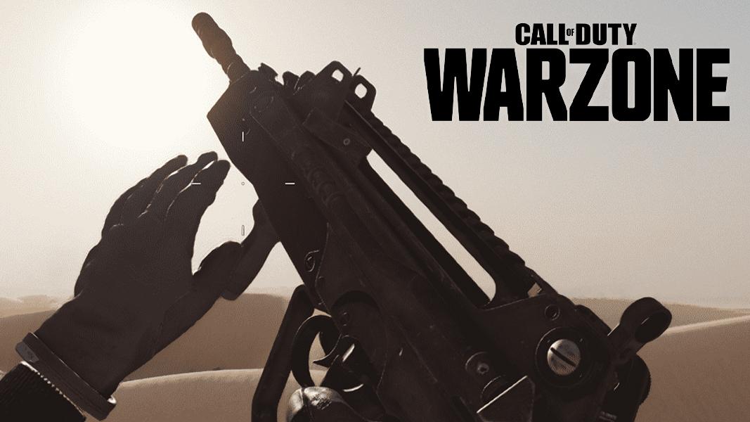 Warzone logo next to FFAR 1 in BOCW