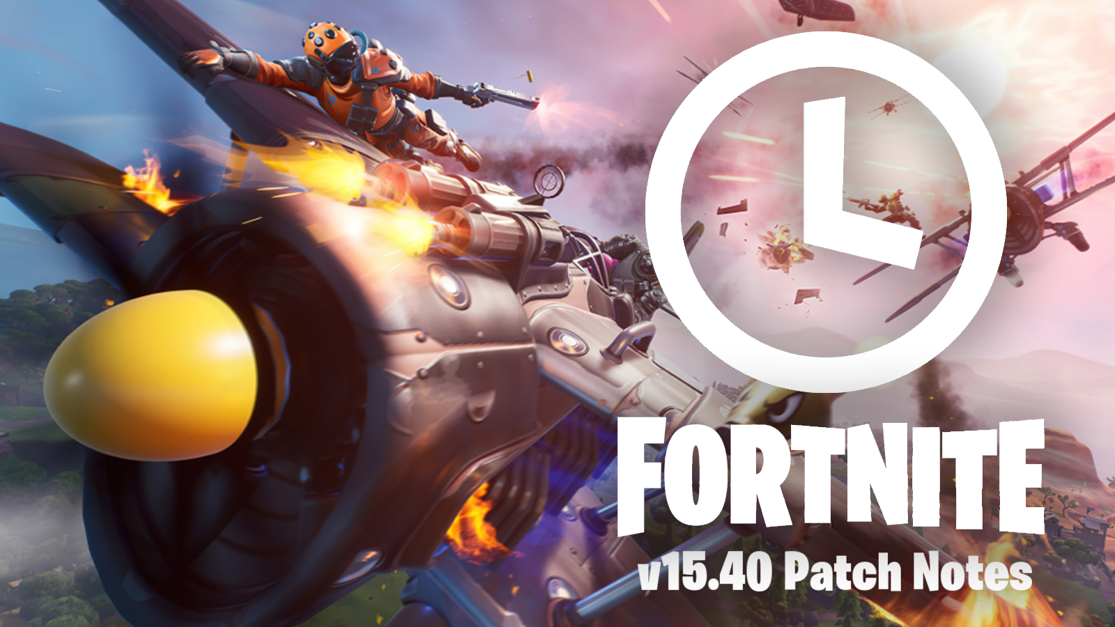 Fortnite characters battle in Air Royale LTM over update 15.40 patch notes.