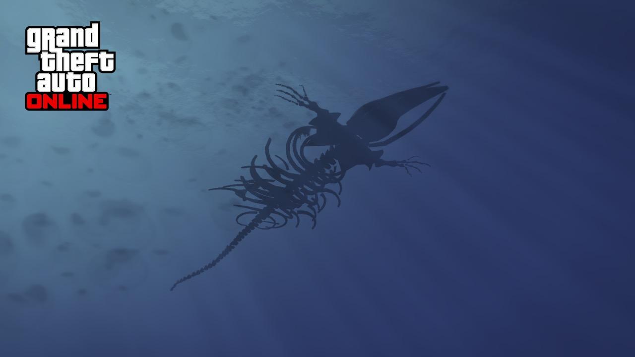 GTA Online mystery skeleton in the sea