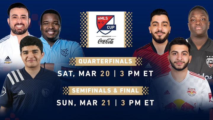 eMLS Cup tournament and players