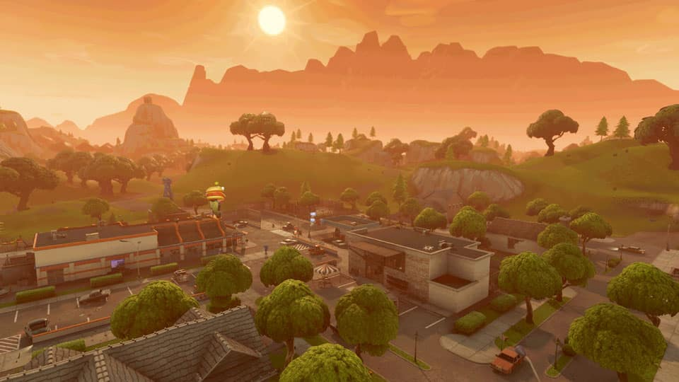Fortnite mountains greasy grove