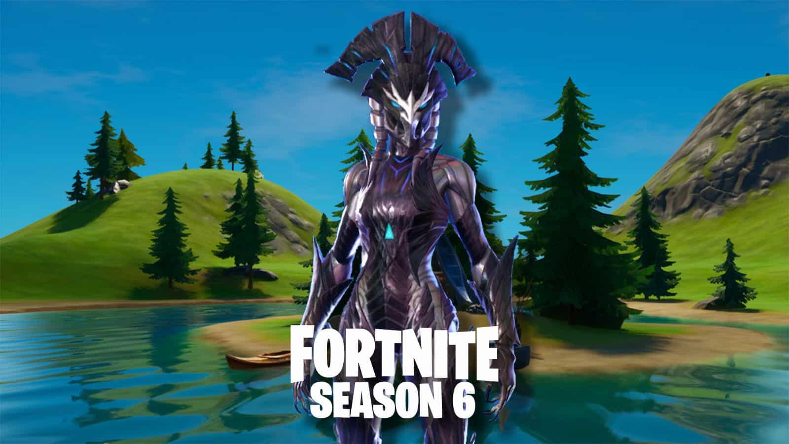 Fortnite Season 6 Guardian of the Lake
