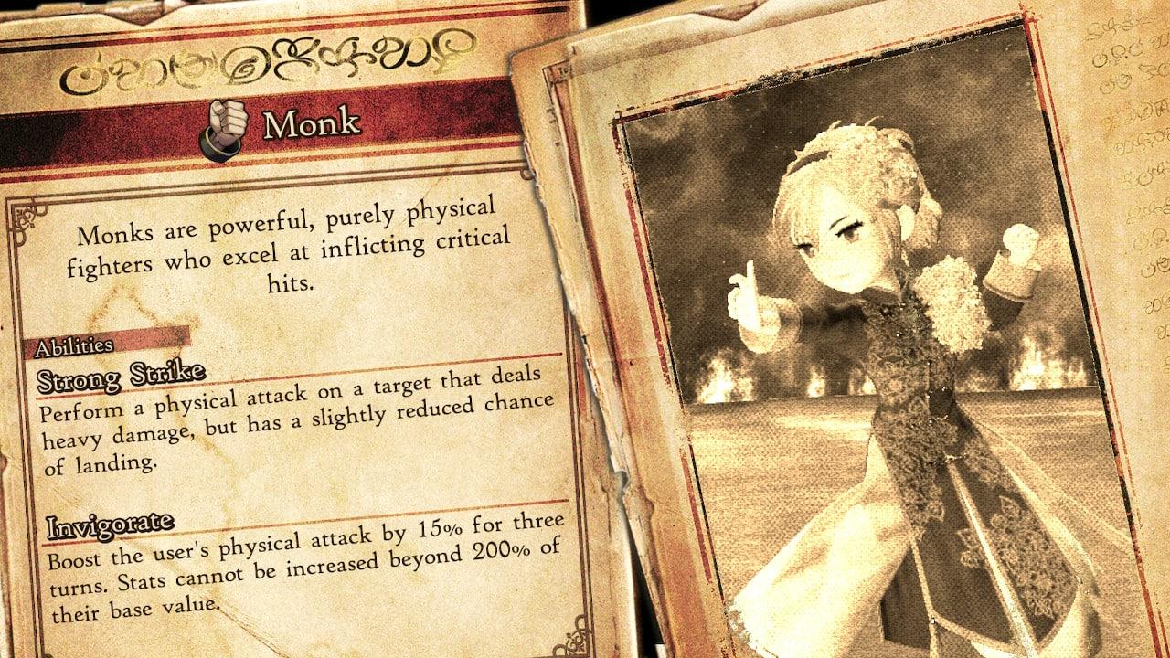 Bravely Default 2 monk