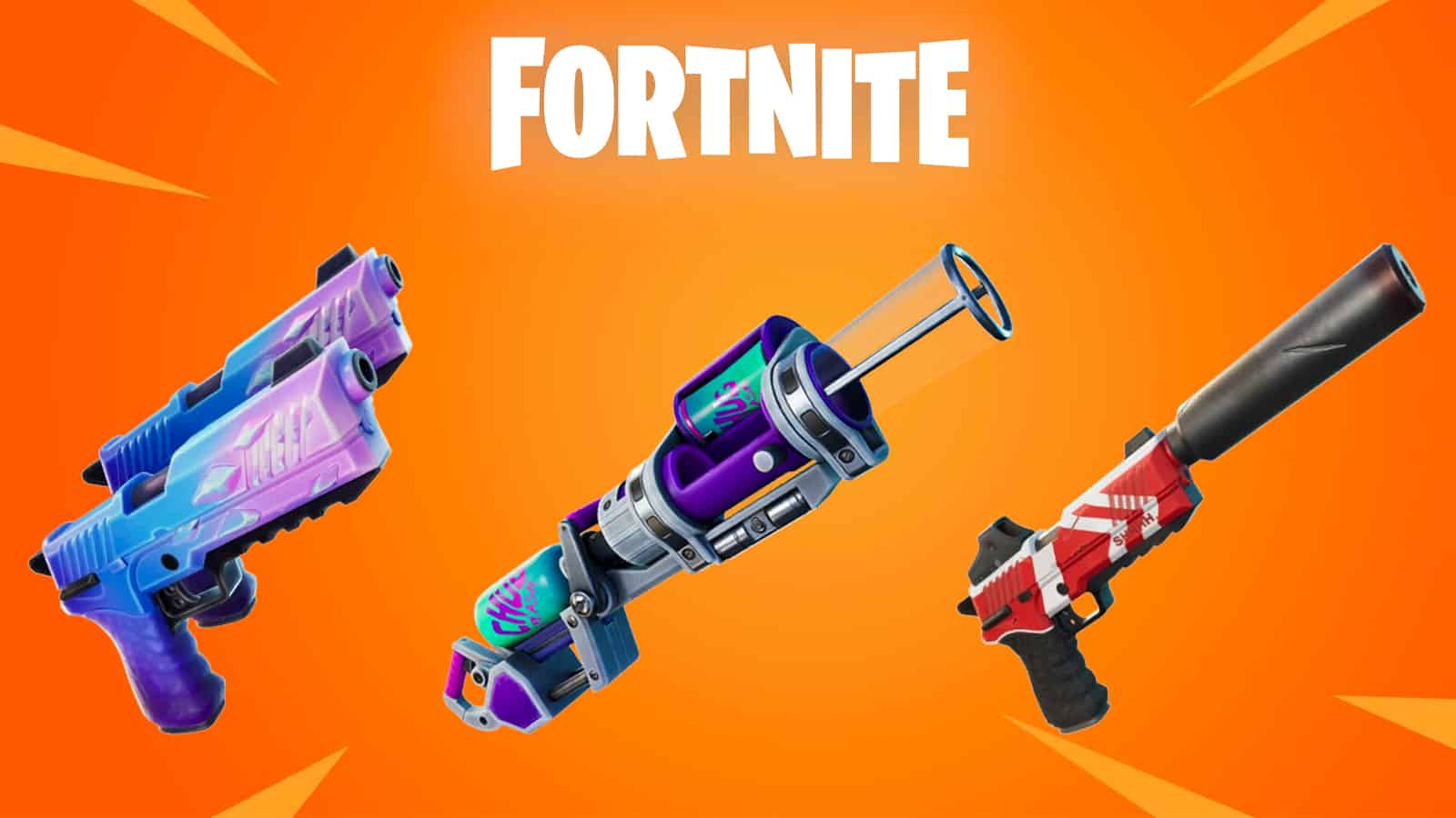 Fortnite Exotic Weapons