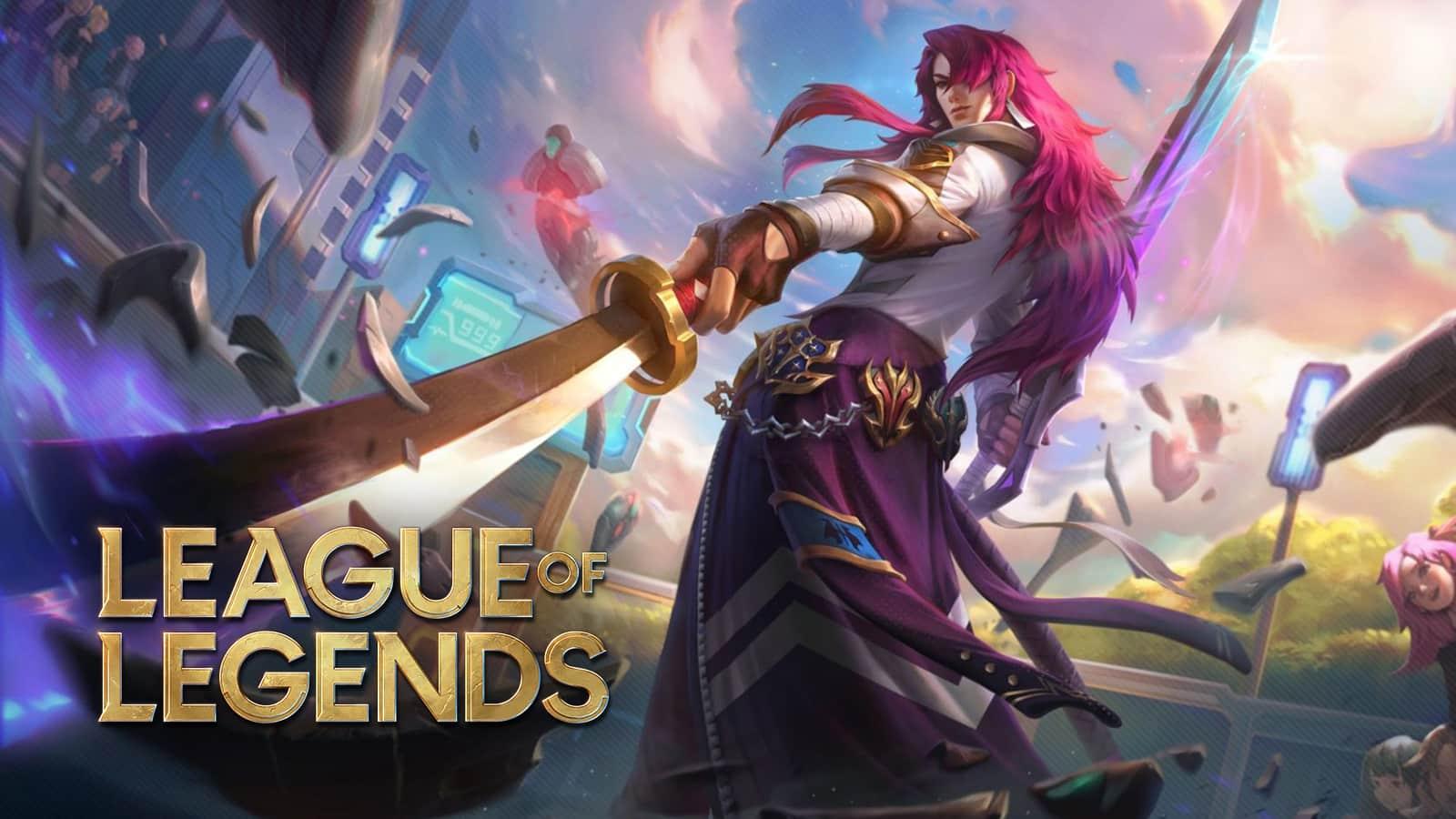 Battle Academia Yone in league of legends