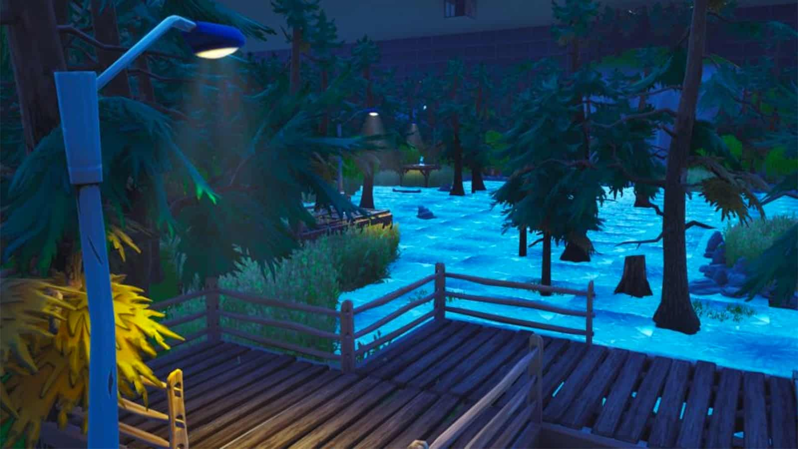 Fortnite Friday the 13th map