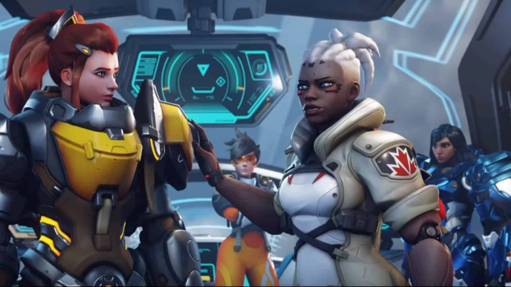 Brigitte and Soujorn in Overwatch 2