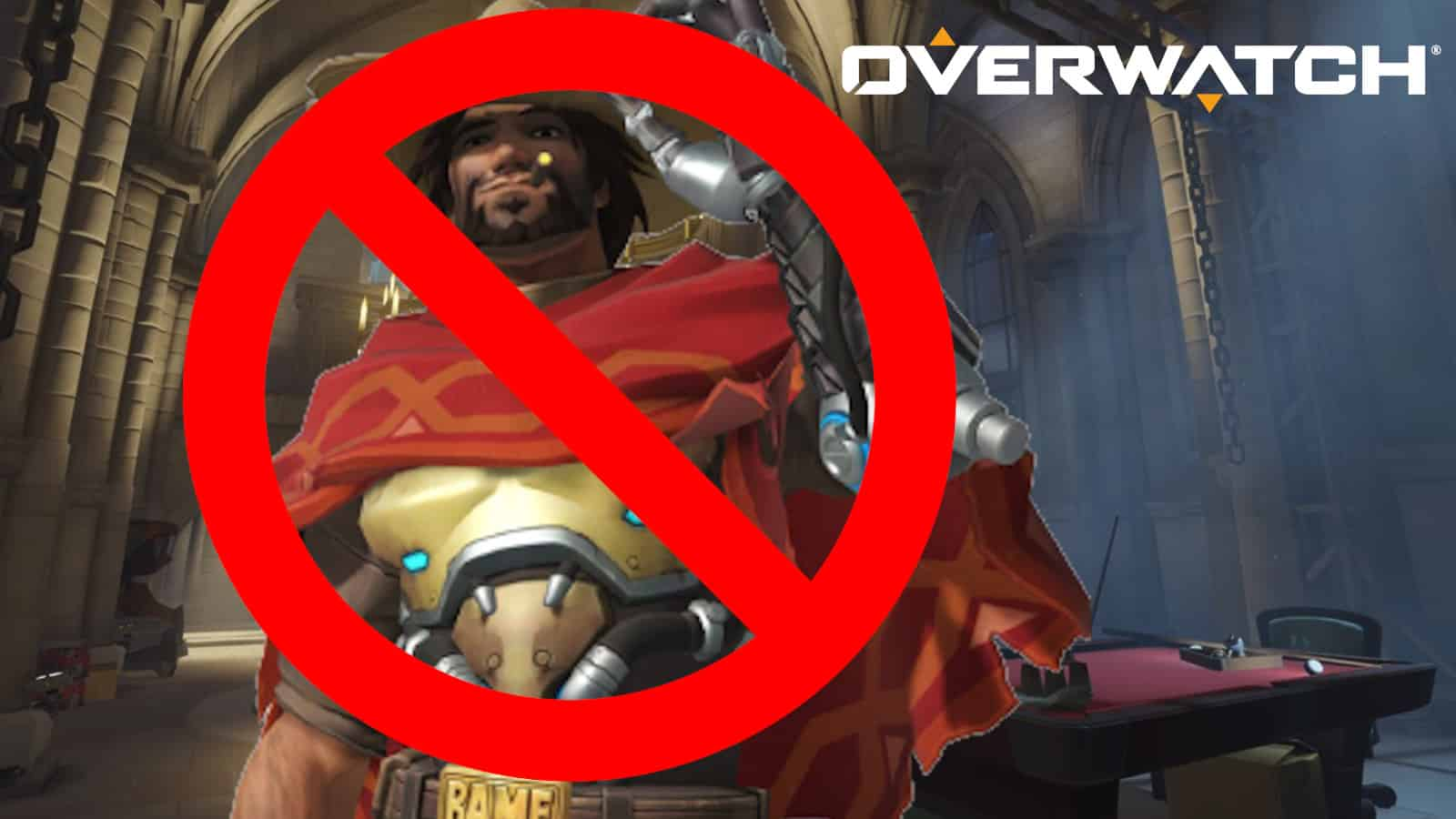 McCree can't leave spawn