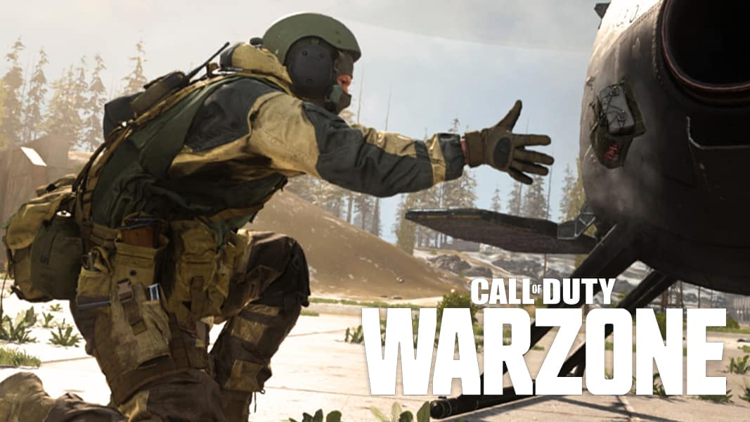 Warzone C4 throw with logo