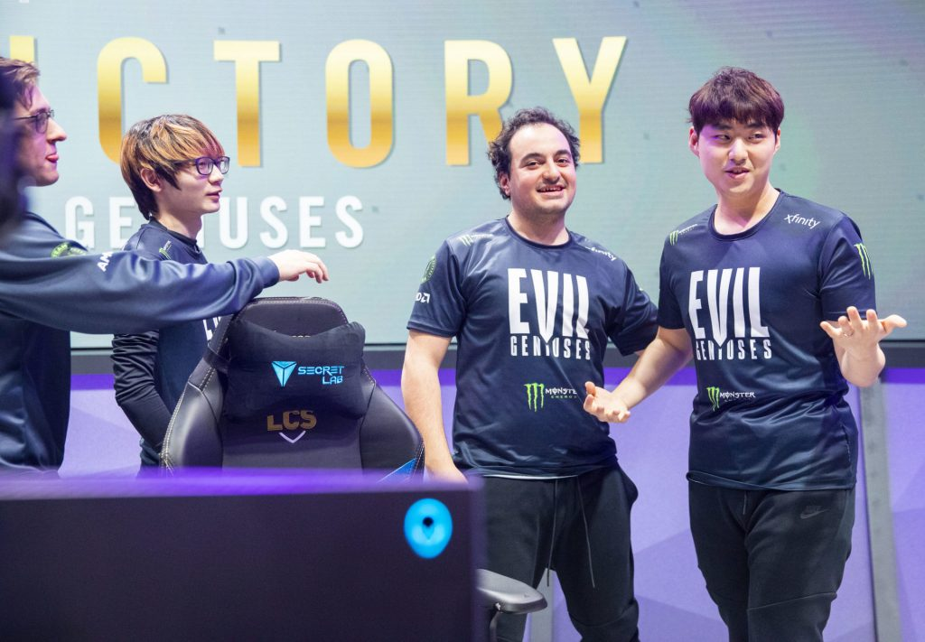 Jiizuke with Evil Geniuses LCS 2020 roster