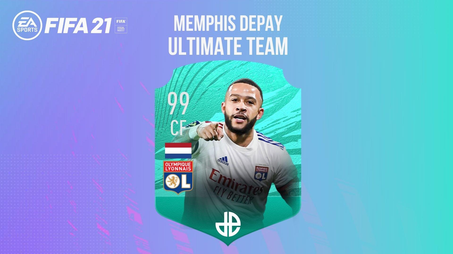 Memphis Depay FIFA Ultimate Team