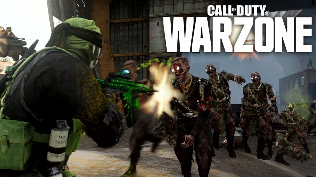 Zombies in Warzone