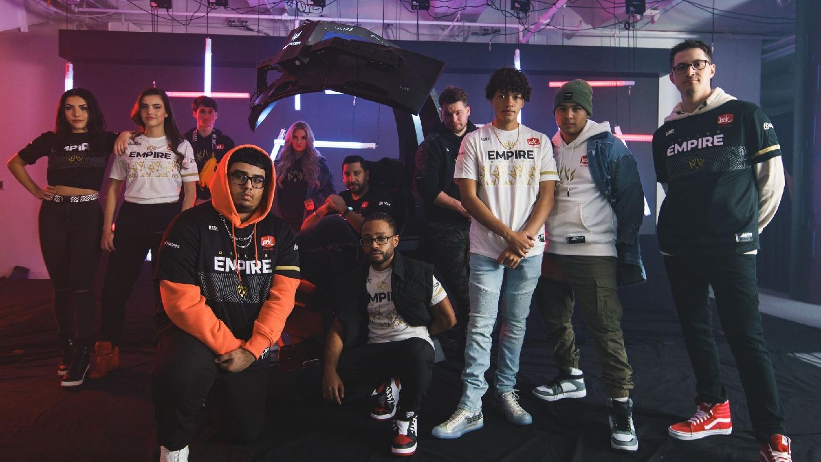 Envy Gaming and Dallas Empire team