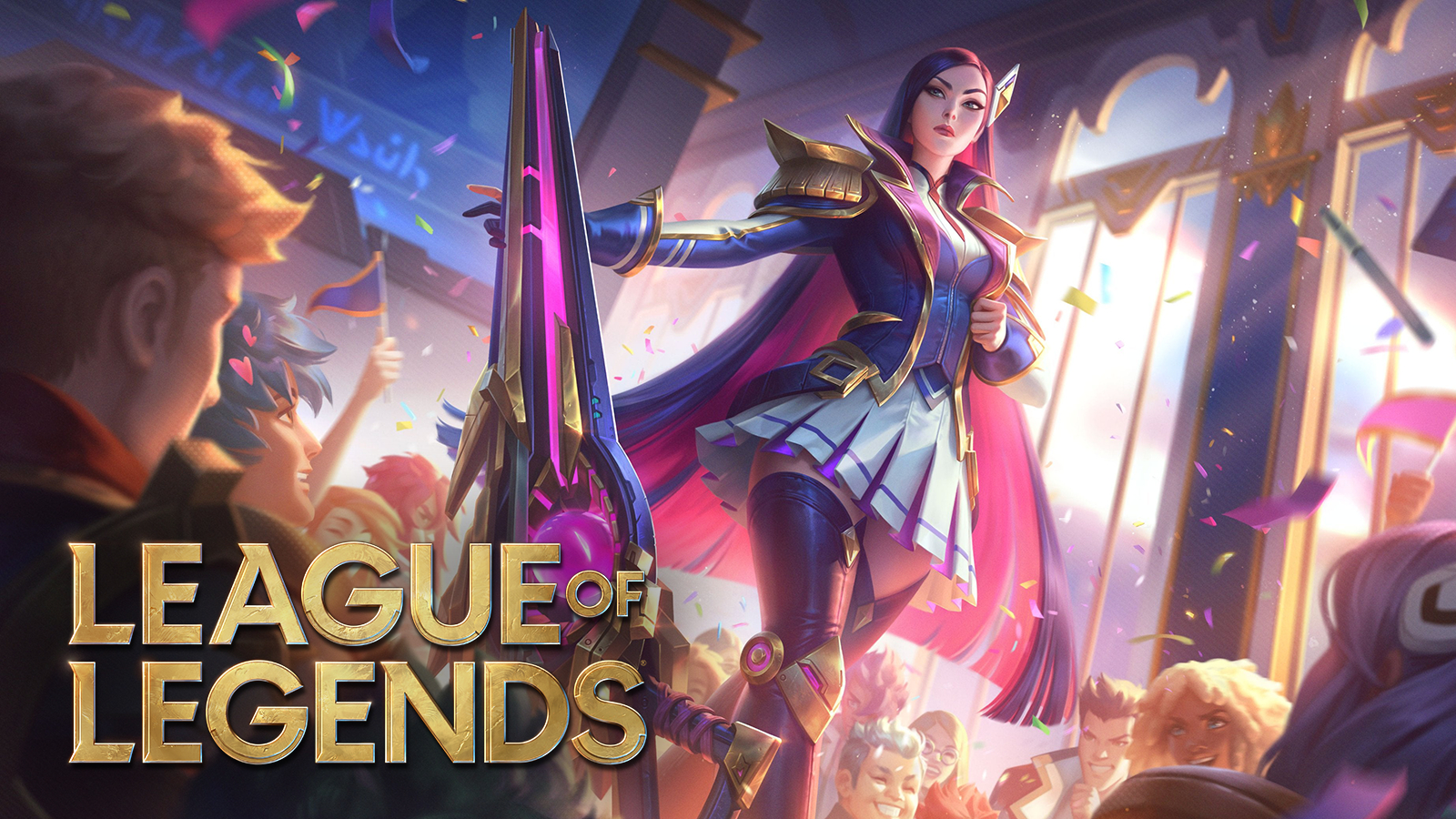 Battle Academia Caitlyn legendary LoL skin League of Legends patch 11.6 notes.