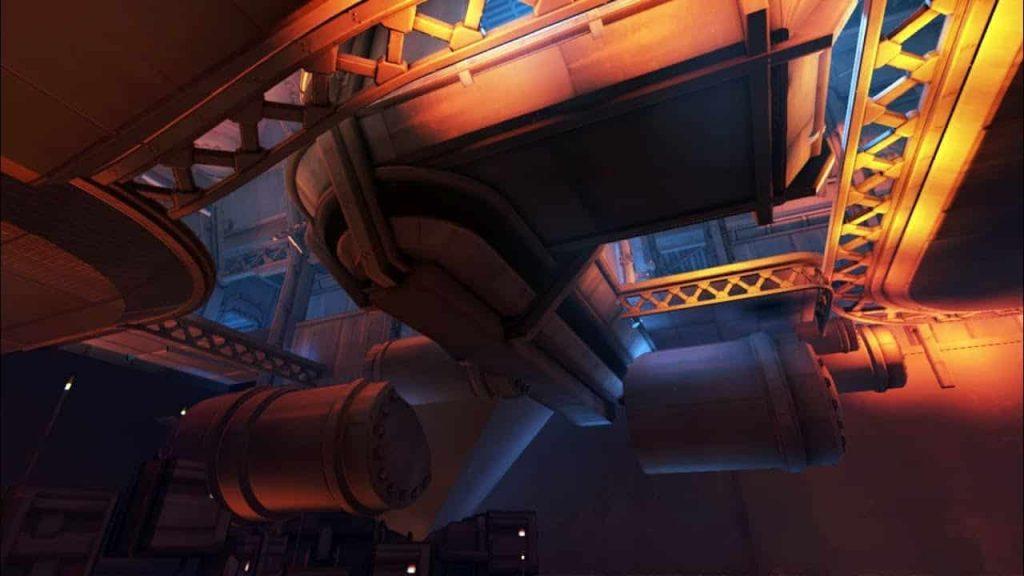 Overwatch King's Row gameplay